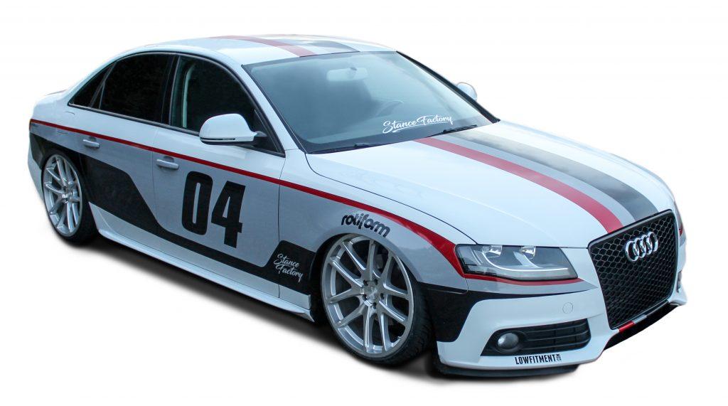 Audi Waalwijk Frame Change