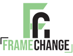 Frame Change – videoproducties Waalwijk Logo